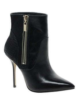 autumn ankle boots River Island Leather Point Zip Ankle Boots