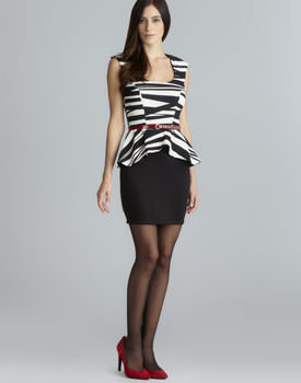 Stitch Abstract Stripe Dress