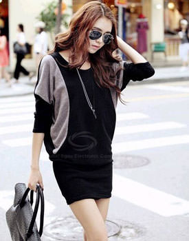 Casual Style  Knit Dress