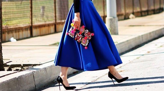 A-Line midi skirts – perfect for every woman