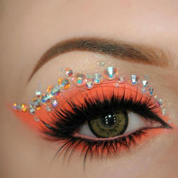 Glamorous make-up ideas