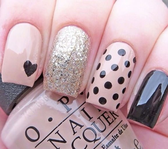 Nail art ideas for Valentines Day