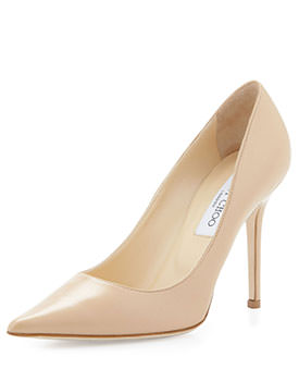 jimmy choo spring shoes Pump Nude