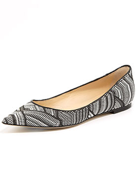 jimmy choo spring shoes Point Toe Flats