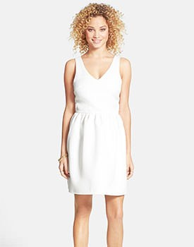 Everly Embossed Dress