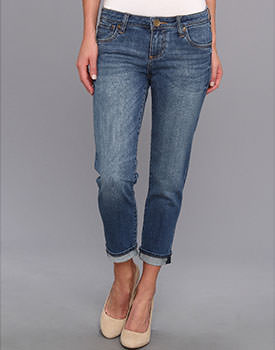 Boyfriend jeans for moms Kut from the Kloth