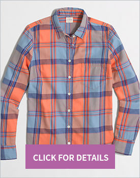 Shirt in flannel