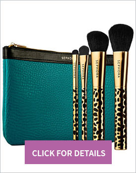 Gold Den Brush Set