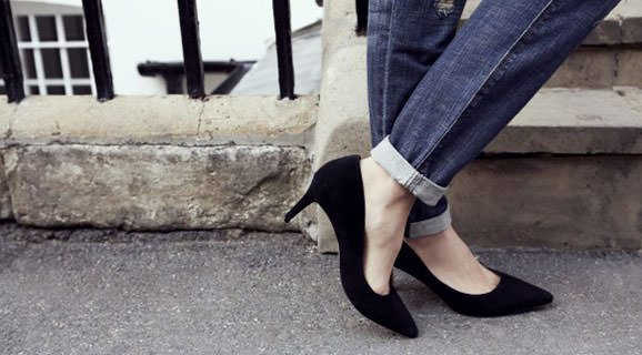 20 Black Mid Heel Shoes To Wear To Work
