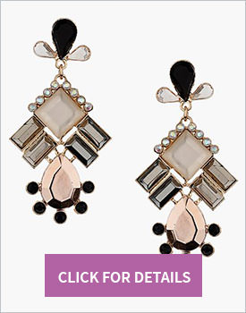 Top Shop Chandelier Earrings