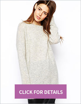 ASOS Premium Oversized Sweater