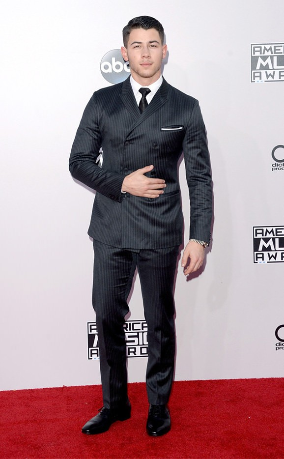 nick jonas american music awards 2014