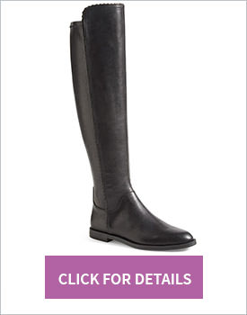 Vitalia Stretch Tall Flat Boot