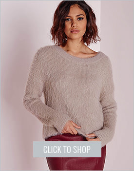 Fluffy Slouch Sweater