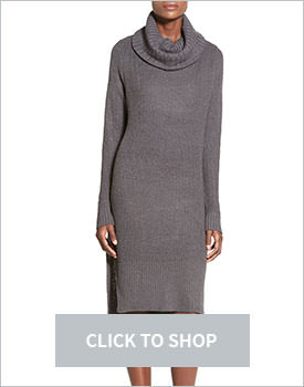 Lush Turtleneck Dress