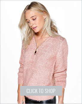 Esme Fluffy Knit Sweater