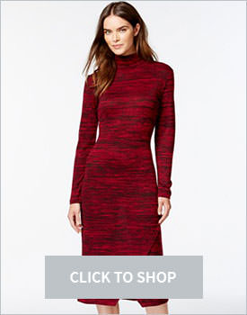 Kensie Space Turtleneck Dress