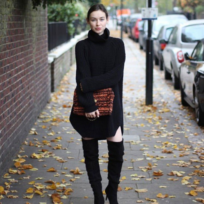 fall-knitted-sweater-dress-3
