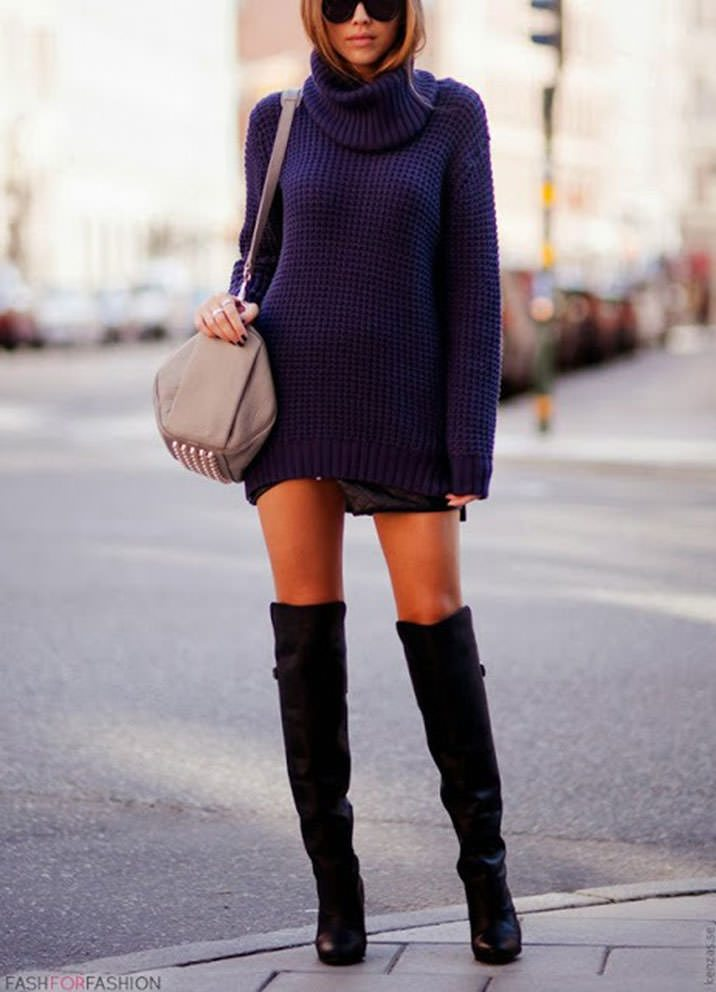fall-knitted-sweater-dress-4