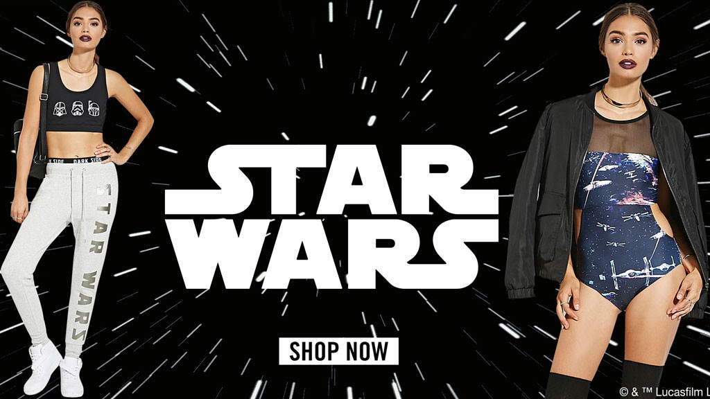 star wars collection at forever21