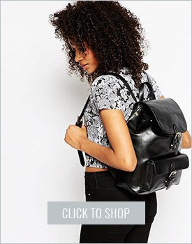 Structured Pocket Backpack