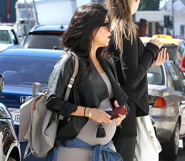 Kourtney Kardashian Proenza Schouler Backpack