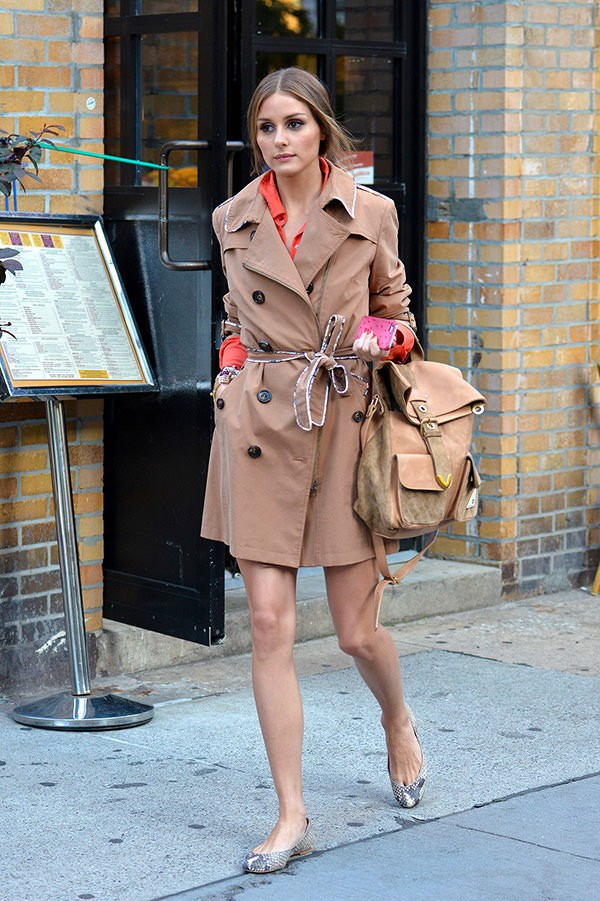 Olivia Palermo backpack
