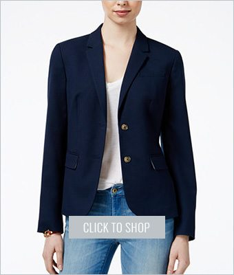 Tommy Hilfiger two button blazer