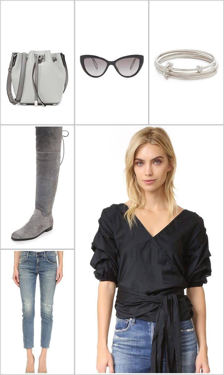 f2ebb40c887 3 days surprise sale at Shopbop - 3 outfit ideas for your heart - MUJO
