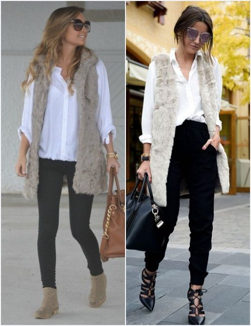 go-to-work-outfit-faux-fur-vestdate-night-outfit-faux-fur-vest
