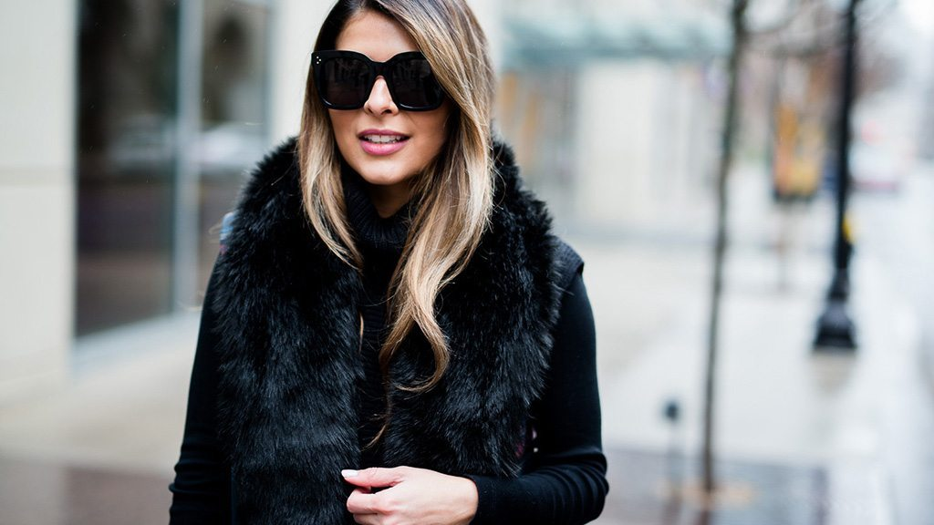 12 women's faux fur vests under $160 to die for