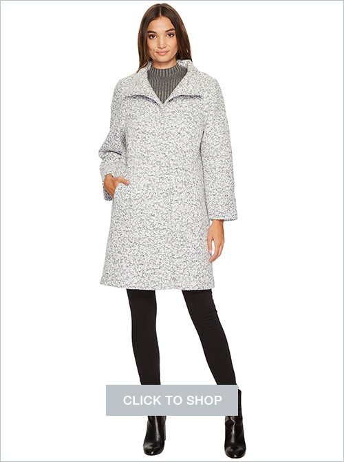 Vince Camuto novelty wool coat