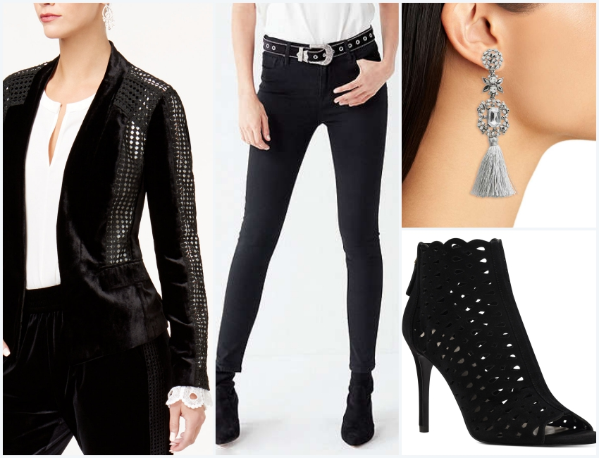 mujo-new-years-eve-outfit-crystal-earrings-velvet-blazer