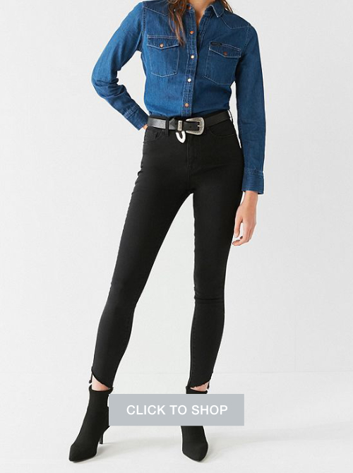 BDG twig high rise skinny jeans
