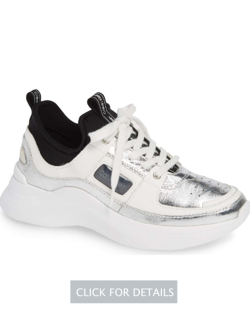 Calvin Klein ultra sock shaft sneaker