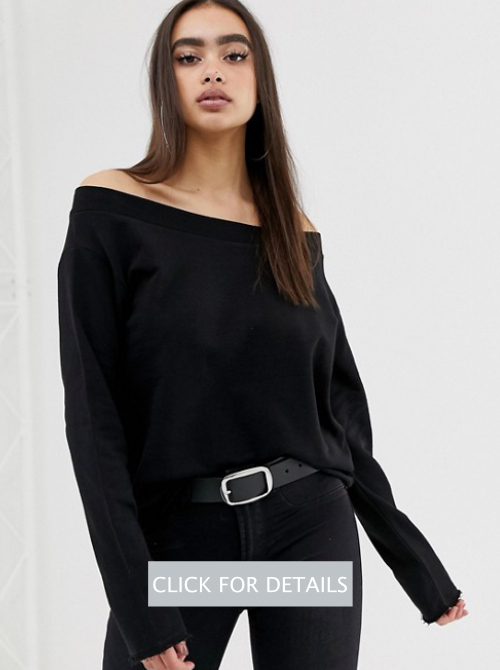 asos-design-off-shoulder-sweatshirt-with-raw-edges-in-black
